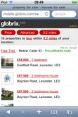 Globrix search results