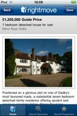 Rightmove property view